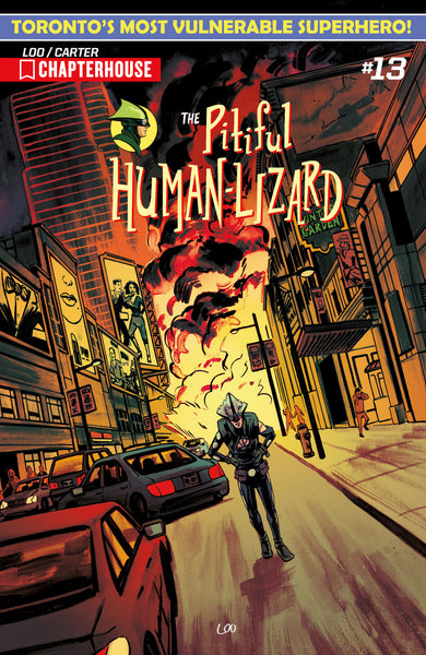 The Pitiful Human-Lizard #13