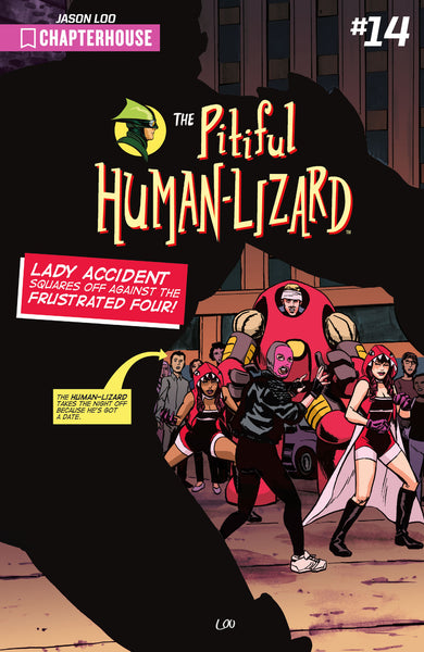 The Pitiful Human-Lizard #14