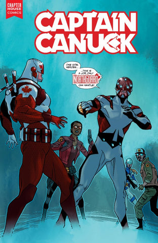Captain Canuck #10 (Cover A by Kalman Andrasofszky)