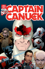 Captain Canuck 2014 Summer Special - George Freeman Variant