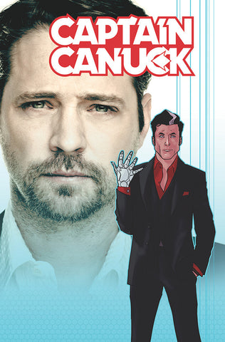 Captain Canuck #10 (Cover B Jason Priestley Photo Variant Cover)