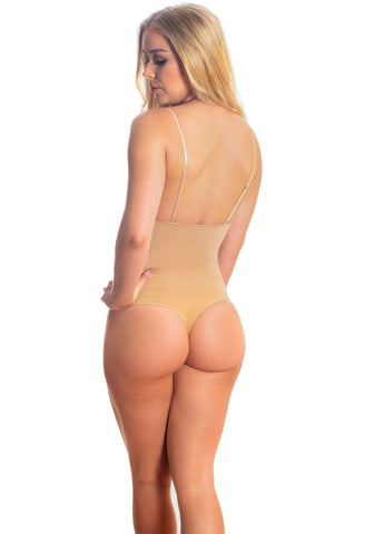 Blonde models B Free Australia Intimate Apparel ultimate stay up thong