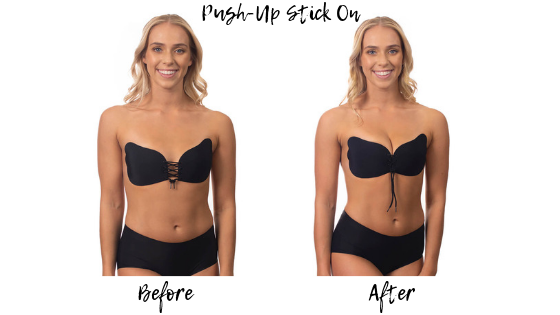 Push Up stick on bra