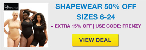 Click Frenzy Sale Seamless Shapewear