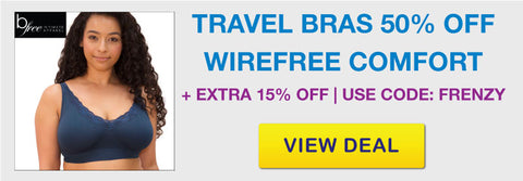 Wirefree Travel Bras