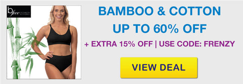 Click Frenzy Sale | Bamboo Cotton Underwear and Bras