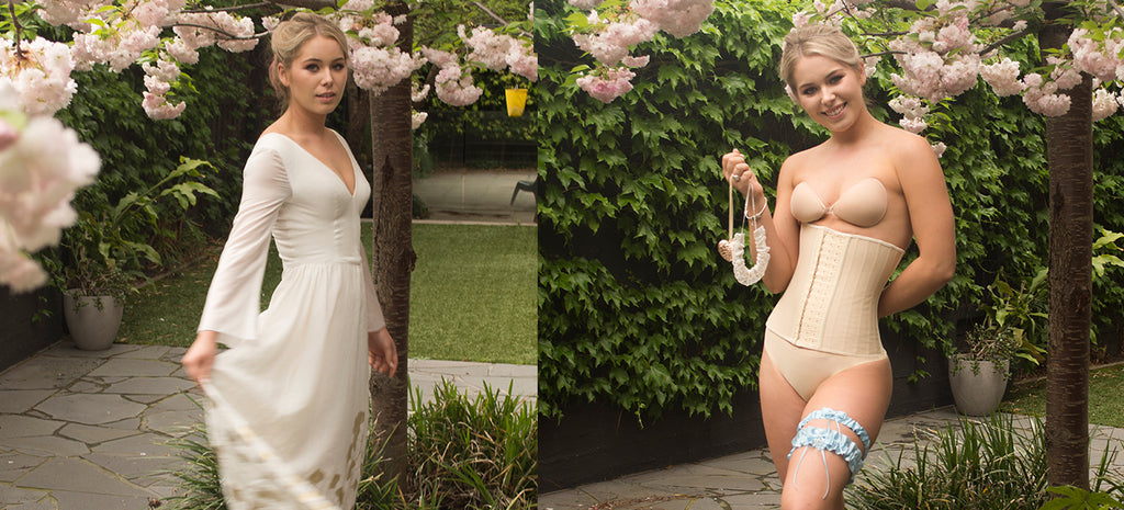 BRIDAL SHAPEWEAR AND CORSETRY FOR WEDDING DRESSES