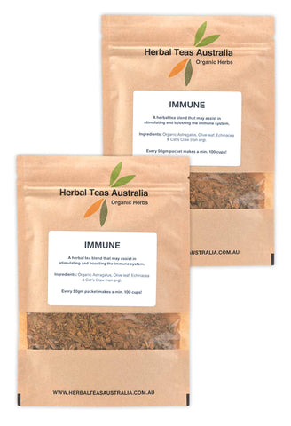 Organic Immunity Herbal Tea 2 Pack - Makes 200 Cups