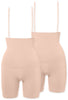 Post-Maternity Stay Up Shorts 2 Pack