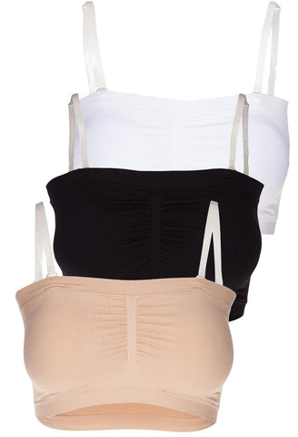 Travel Essentials - Bandeau 3 pack
