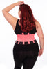 Curvy Hourglass Waist Trainer - Black and Pink