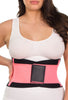 Hourglass Waist Trainer - Black and Pink
