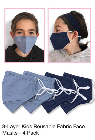 3-PLY Protective Face Mask - 50 Pcs