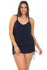 Draped One-Piece Magic Swimsuit