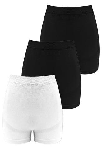 Maternity Anti-Chafing Cotton Shorts