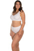 Lace Minimiser Bra and Contour Lace High Cut Brief Set