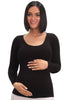 Maternity Bamboo Long Sleeve Top