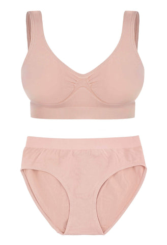 Bamboo Pull On Sleep Bra Set