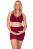 Maternity Anti Chafing High Rise Petite Cotton Shorts