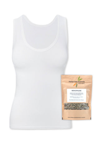 Bamboo Tank Top + Menopause Relief Tea Set