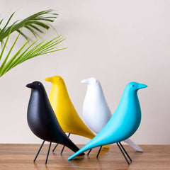 bird tabletop figurines