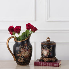 ceramic jug shape decorative vases