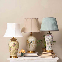 ceramic table lamps set
