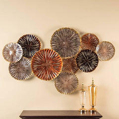 decorative wall sculptures