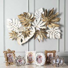 golden decorative wall sculptures