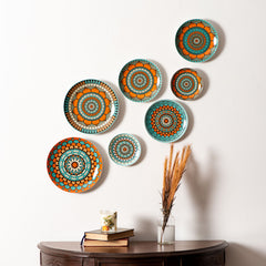 hand painted morocco decorative wall plates