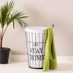 lets stay home laundry basket
