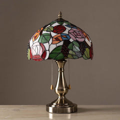 rosa tiffany lamp