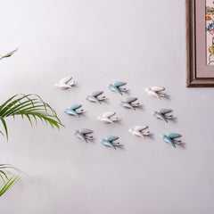 wall bird figurines