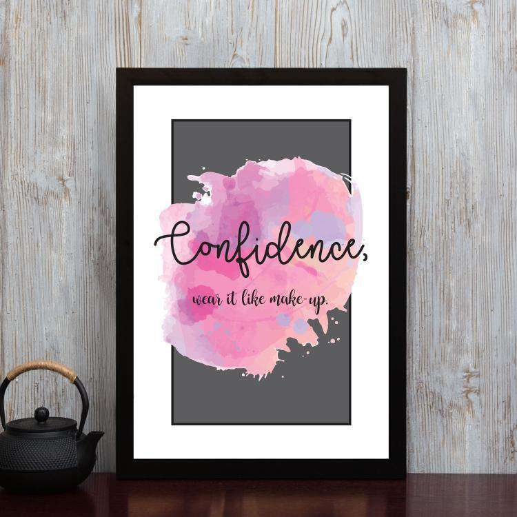 Confidence - Framed Poster
