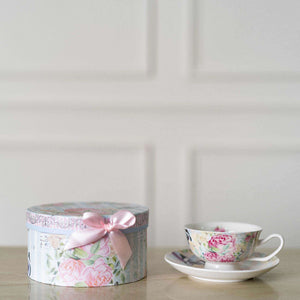 'Garland' Teacup and Saucer