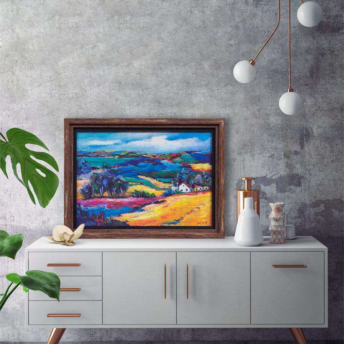 A colorful nature at its best - Framed Art from Italy