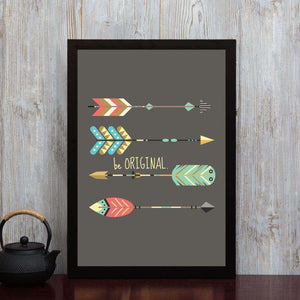 Be Original - Framed Poster