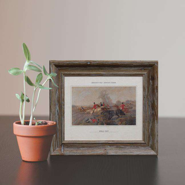 Hunting Scene 'Full Cry' - Framed Art Print