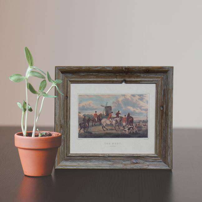 The Meet - Framed Art Print