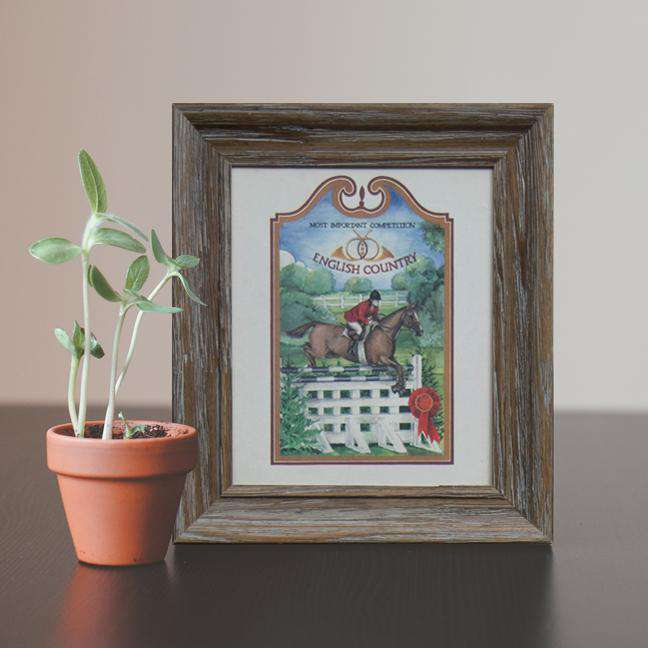 Country Competition - Framed Art Print