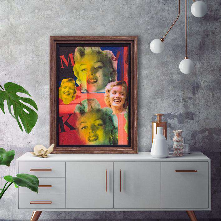 Monroe - Framed Art Print