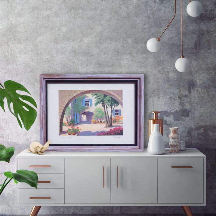 Country side of Italy - Framed Art of Italy