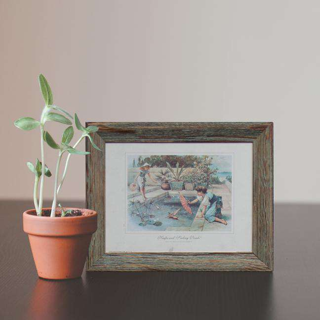 "Ninfee and ""Sailing Vessels"" - Framed Art"
