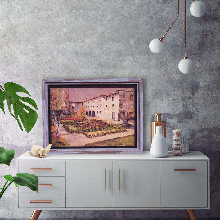 Sea Facing house - Framed Art from Italy