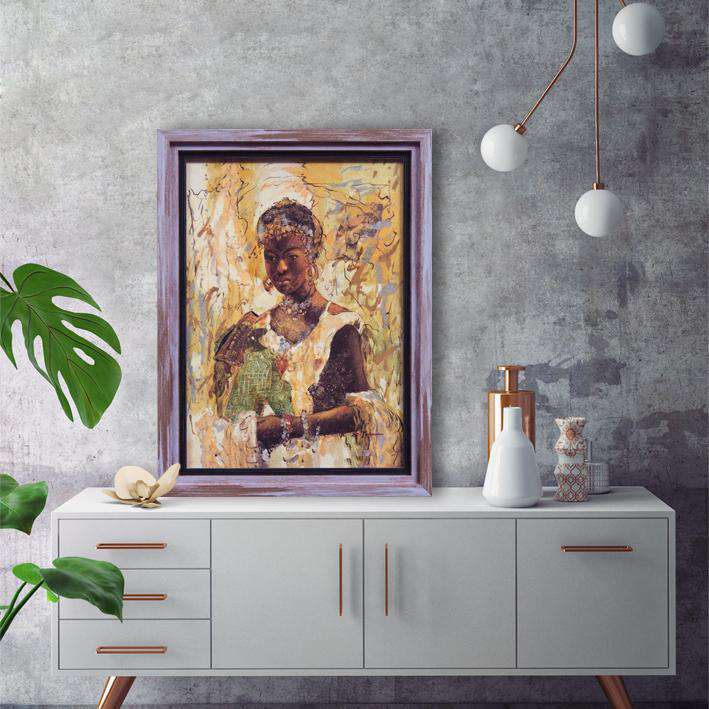 Mother's Love - Framed Art Print