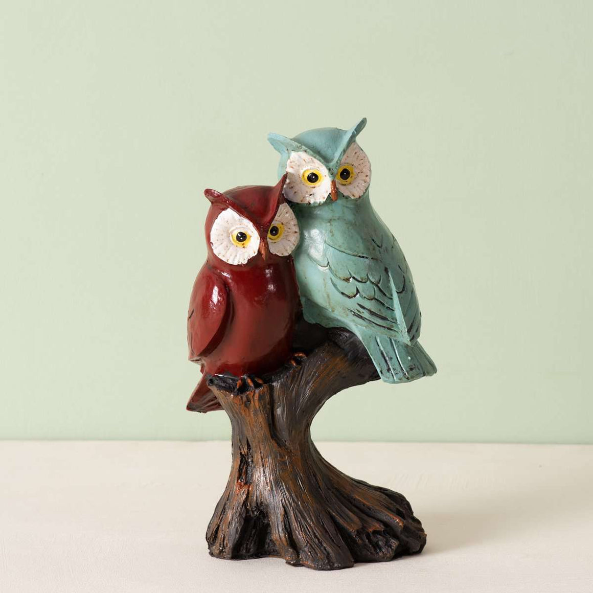 'Nightflyers' Perched Owl Sculpture