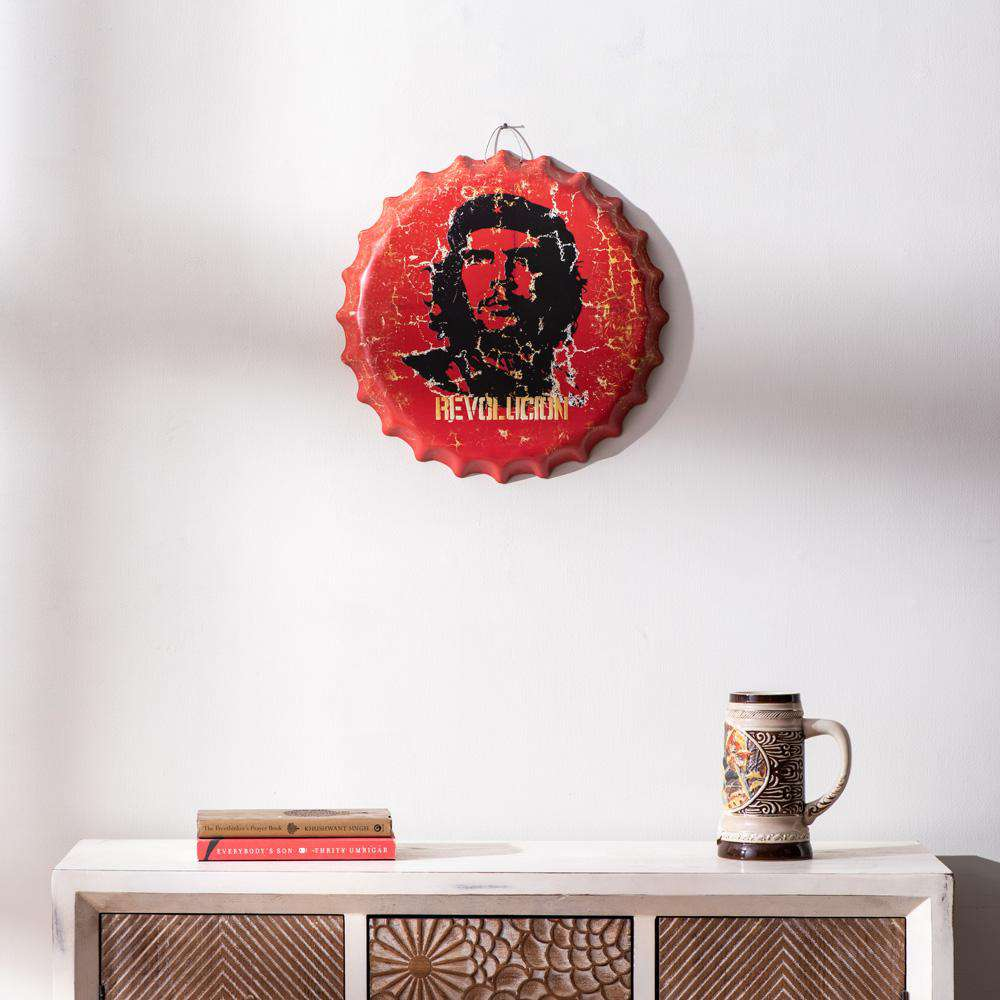 'Revolution' Oversized Wall Bottle Cap