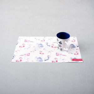 Flamingos Vinyl Placemats - Set of 6