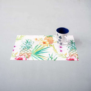 Pineapples Vinyl Placemats - Set of 6