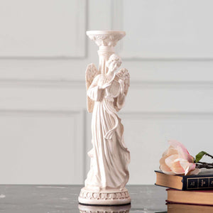 'Heavens' Angel Candle Holders- Set of 3